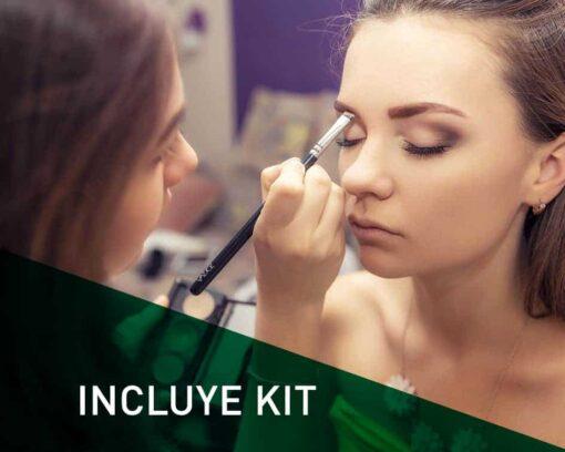 Fórmate con el Máster en Maquillaje Profesional con Kit de Maquillaje Profesional incluido