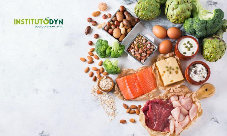 Conoce los alimentos que contienen más proteínas de origen animal y vegetal