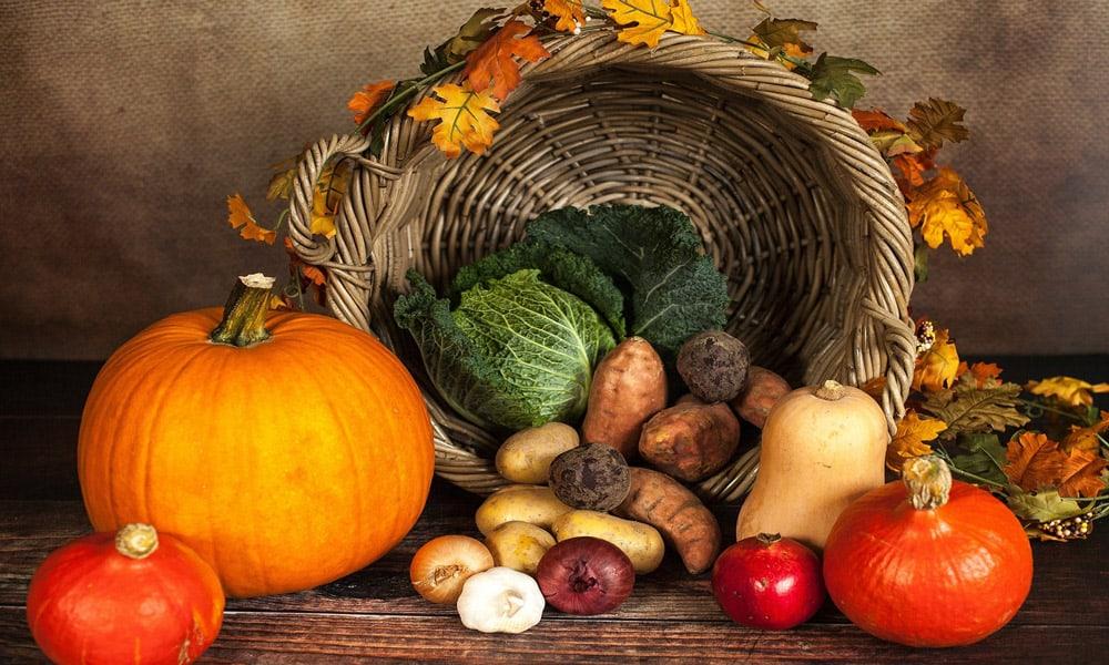 Escoge alimentos de temporada para tus menús diarios