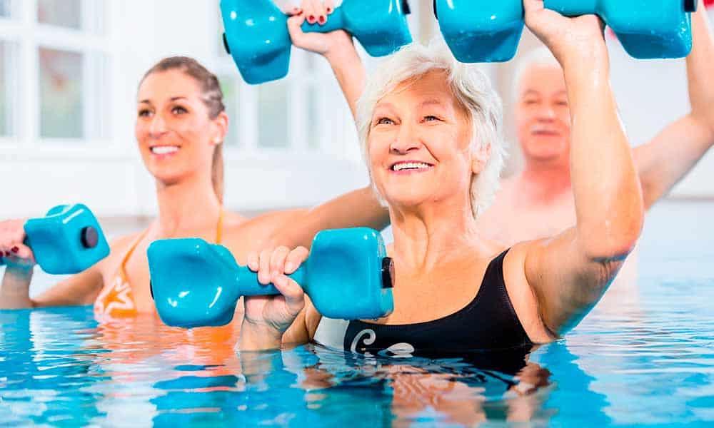 Ejercicios de aquagym y sus beneficios