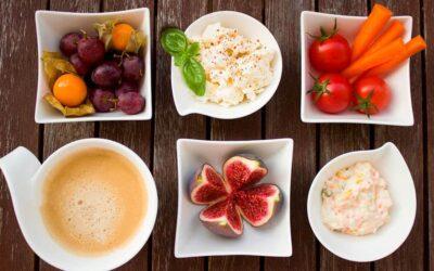 Clasificación de alimentos y dieta saludable