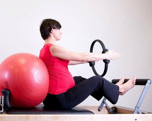 Estudiar el Curso Pilates para Embarazadas