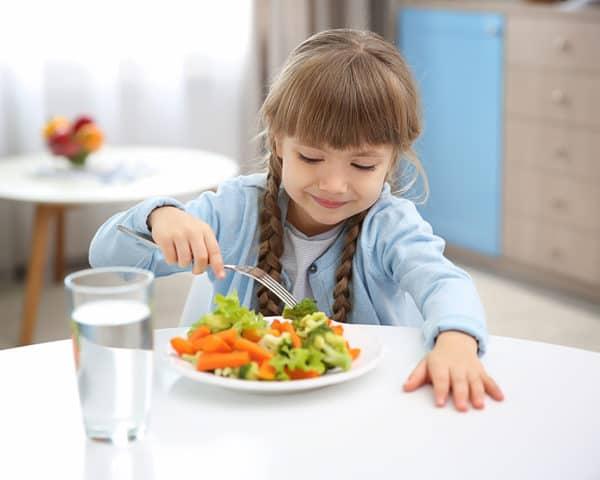 curso de nutrición infantil y dietética