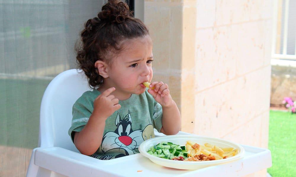 Hábitos saludables para niños y su alimentación