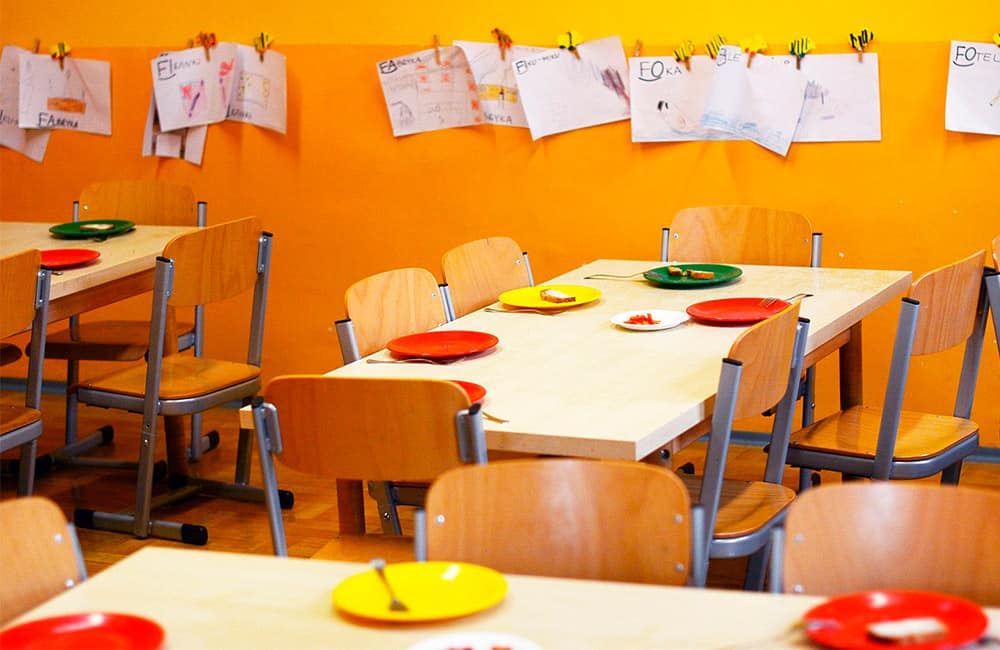 El diseño de un menú escolar debe estar bien planificado para fomentar buenos hábitos alimenticios