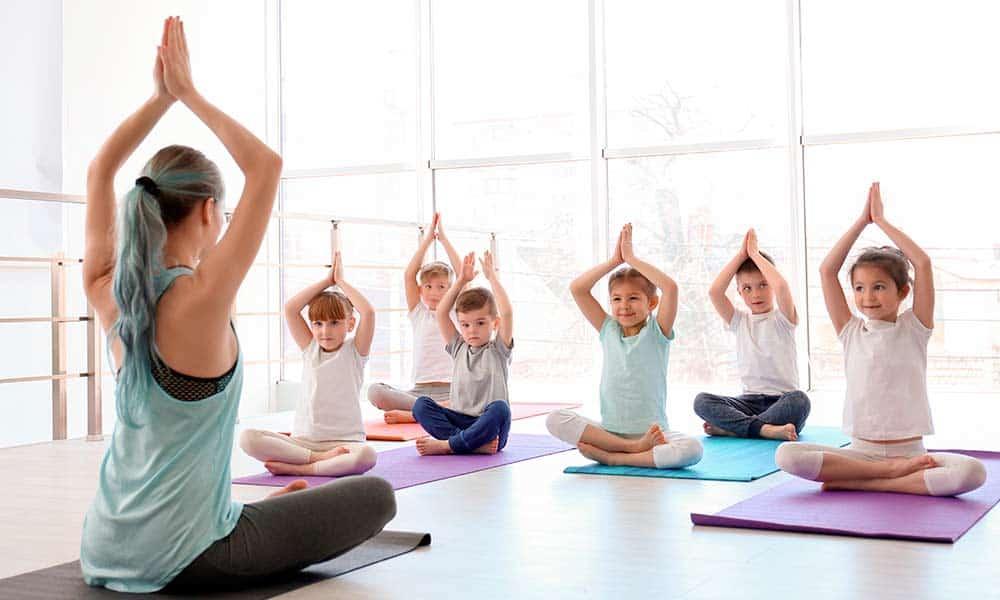 Beneficios del yoga para niños y adolescentes